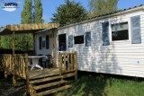 Guérande Camping Etang du Pays Blanc - En campagne - Mobil-home Terrasse Couverte