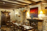 Guérande Intra-Muros Cité Médiévale Hotel Restaurant Crêperie Le Roc maria Cheminée