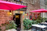 Guérande Intra-Muros Cité Médiévale Hotel Restaurant Crêperie Le Roc maria Entrée