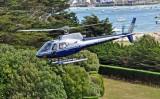Héliberté - hélicoptère à Pen Bron -  La Turballe