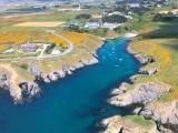 Héliberté - survol de Belle île en mer  en hélicoptère