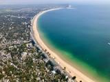 Héliberté - survol de la baie de La Baule en hélicoptère