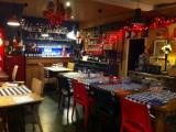 Intérieur restaurant, Bistrot des Remp'Arts, proche cité médiévale, Guérande