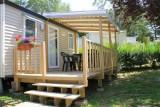 La Baule - Camping L'Eden - Terrasse mobil-home