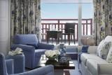 La Baule - Hôtel Barrière L'Hermitage - Chambre avec salon et balcon vue mer