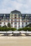 La Baule - Hôtel Barrière L'Hermitage - Vue depuis la plage