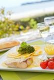 La Baule - Hôtel La Villa Caroline - Restaurant - Assiette de poissons