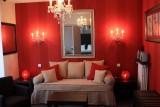 La Baule - Hôtel Villa Cap d'Ail - Chambre 2 coin salon