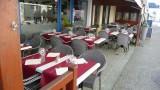 La Godille restaurant, vue terrasse, La Turballe
