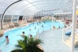 La Roseraie - Camping - La Baule  - piscine couverte