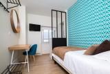La Turballe - Hôtel Face Mer Les Chants d'Ailes - Chambre supérieure avec lit simple