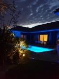 La Villa d'Escoublac - chambre d'hôtes -piscine-nuit- La Baule