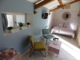 Le Jardin - chambre Guerande intra-muros 2 personnes - La Chambre