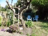 Le Jardin - chambre Guerande intra-muros 2 personnes - Le coin jardin