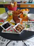 Les chambres de Marie Petit déjeuner