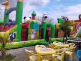 Mesquer Quimiac - Camping Le Prad'Heol - Jeux gonflables