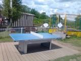 Mesquer Quimiac - Camping Le Prad'Heol - Table de ping-pong et trampoline