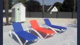 Mesquer Quimiac - Camping Le Prad'Heol - Transats piscine