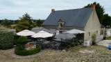 Terrasse, crêperie le Moulin du Diable, Guérande
