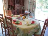 petit déjeuner chambres d'hôtes