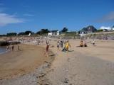 Plage de Ker Elisabeth à La Turballe, plage de sable fin