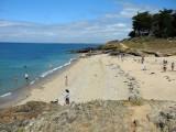 Plage de Pors-Er-Ster à Piriac-sur-Mer, détente sur la plage
