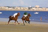 Polo sur la plage de La Baule
