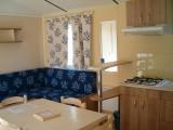Pornichet - Camping Les Trois Chênes - Mobil-home intérieur