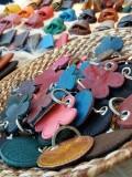 Porte-clés et porte monnaie en cuir Arckésac - Saint-Lyphard