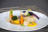 Restaurant Le Carpe Diem à La Baule - Assiette de lieu jaune