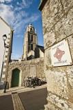 Ruelle donnant sur la Tour Saint-Guénolé