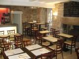 Guérande, intra-muros, proche collégiale, pizzéria-crêperie Le Logis, salle