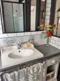 Saint Lyphard - Chambre d'hôtes Ker Holen  - salle d'eau la belle époque