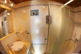 Salle de bain Chambre jaune, Manoir des 4 Saisons à La Turballe, Crédit A Drean