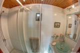 Salle de bain Chambre verte, Manoir des 4 Saisons à La Turballe, Crédit A Drean