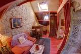 Salon Chambre rouge , Manoir des 4 Saisons à La Turballe, Crédit A Drean