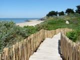 Sentier côtier plage Maresclé