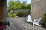 Guérande proche cité médiévale, Chambres d'hôtes de caractère la Maison Bizienne, terrasse