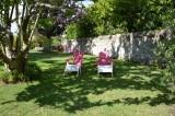 Guérande proche cité médiévale, Chambres d'hôtes de caractère la Maison Bizienne, jardin détente