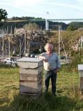 La Roche-Bernard, La Maison de l'Abeille, Rémy Lucas, ruches et Vilaine