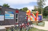 Guérande Camping le Panorama proche marais salants, Espace animation et jeux gonflables