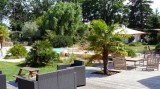Ti Dear - Chambres d'hôtes à Saint-Molf en Brière - jardin avec piscine