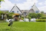 Vue du restaurant La Mare aux Oiseaux - Saint-Joachim