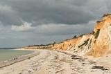 Vue panoramique de la plage de Pénestin et de sa Mine d'Or