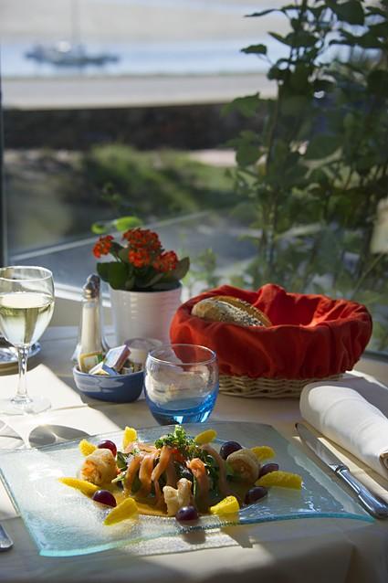 01- Restaurant de l'hôtel de Pen Bron, à La Turballe