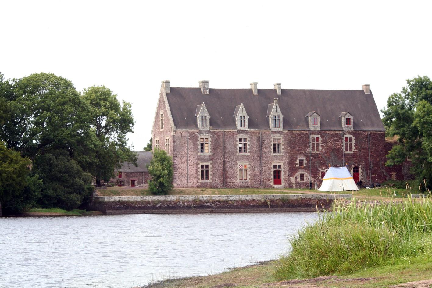 Château de Comper en Brocéliande - Concoret - Morbihan Bretagne sud