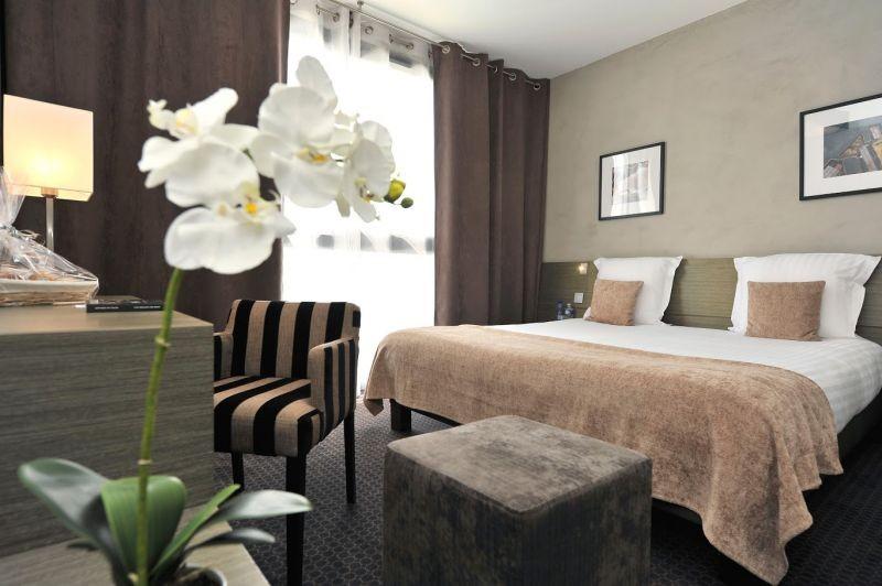 Best Western Hôtel de la Cité & Spa***, chambre double beige