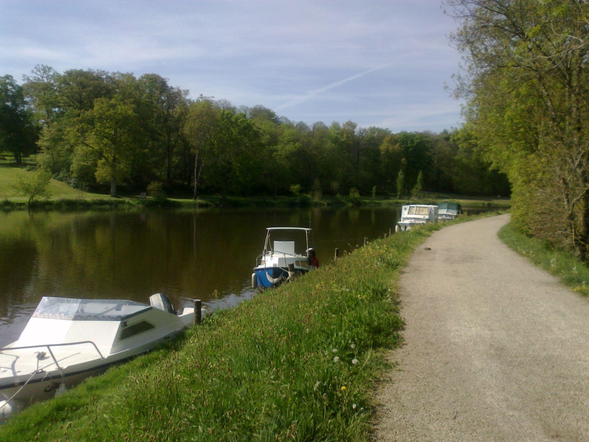 Chemin de halage Canal de Nantes à Brest