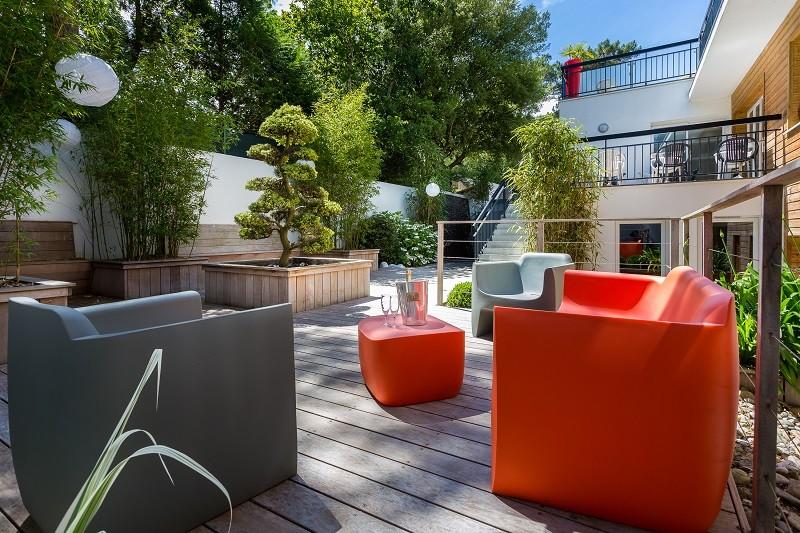 Hôtel Garden-spa - terrasse - La Baule