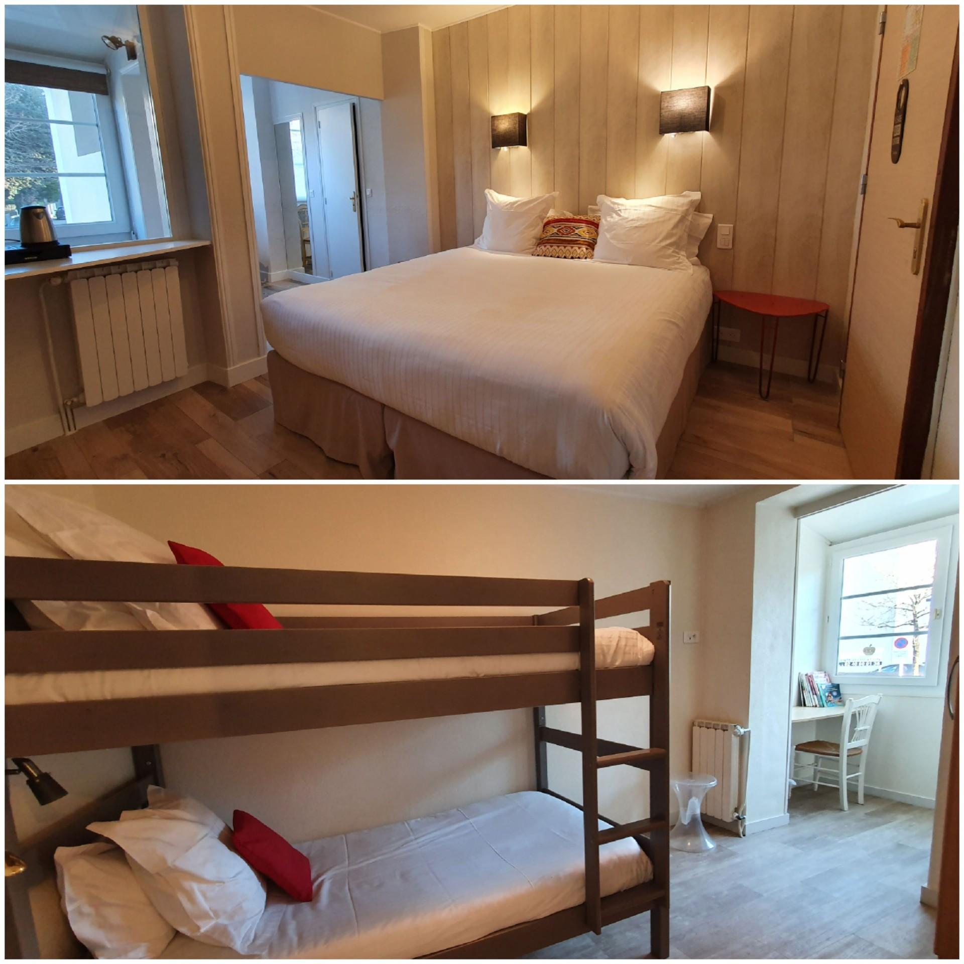 Hôtel La Closerie - chambres prestige ou dortoir